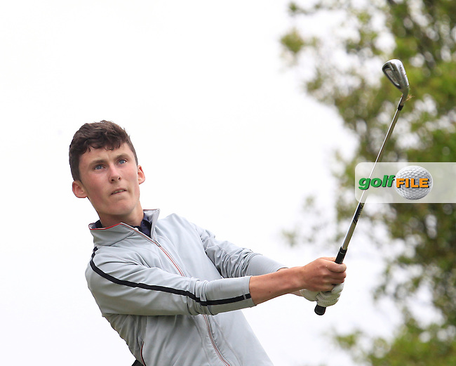 Mark Healy (Kinsale) on the 7th tee during Round 2 of the Irish Boys Amateur Open Championship at Tuam Golf Club on Wednesday 24th June 2015.<br /> Picture:  Thos Caffrey / www.golffile.ie