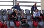 Oliver Kahn ,<br /> Karl-Heinz Rummenigge , Vorstandsvorsitzender FC Bayern München AG<br /><br />Testspiel Audi Football Summit FC Bayern Muenchen - Olympique Marseille  auf dem FC Bayern Campus<br />Saisonvorbereitung  2020 / 2021  <br /><br />Foto : Stefan Matzke / sampics / Pool via nordphoto / Bratic<br /><br />Nur für journalistische Zwecke ! Only for editorial use !<br /><br />DFL regulations prohibit any use of photographs as image sequences and/or quasi-video