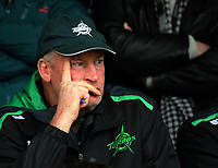 Manawatu coach Jeremy Cotter watches the Mitre 10 Cup preseason rugby match between the Wellington Lions and Manawatu Turbos at Otaki Domain in Otaki, New Zealand on Sunday, 6 August 2017. Photo: Dave Lintott / lintottphoto.co.nz
