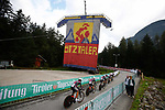 BTC City Ljubljana start the Women's Team Time Trial of the 2018 UCI Road World Championships running 54.7km from Ötztal to Innsbruck, Innsbruck-Tirol, Austria 2018.<br /> Picture: Innsbruck-Tirol 2018 | Cyclefile<br /> <br /> <br /> All photos usage must carry mandatory copyright credit (© Cyclefile | Innsbruck-Tirol 2018)