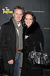 Patrick McEnroe & Melissa Errico attending the Broadway Opening Night Performance of 'The Performers' at the Longacre Theatre in New York City on 11/14/2012