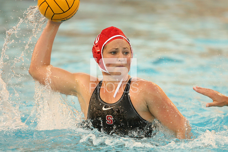 2 February 2007: Katie Hansen during Stanford's 10-6 win over Hawaii at the Avery Aquatic Center in Stanford, CA.