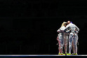 USA team group (USA),<br /> AUGUST 13, 2016 - Fencing : <br /> Women's Sabre Team 3rd place match<br /> at Carioca Arena 3 <br /> during the Rio 2016 Olympic Games in Rio de Janeiro, Brazil. <br /> (Photo by Koji Aoki/AFLO SPORT)