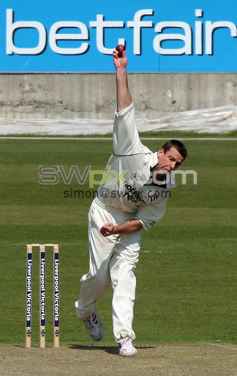 PICTURE BY VAUGHN RIDLEY/SWPIX.COM -  Cricket - Liverpool Victoria County Championship Division One- Riverside, Chester-le-Street, County Durham - 10/05/06...? Simon Wilkinson - 07811 267706...Middlesex's Johann Louw.