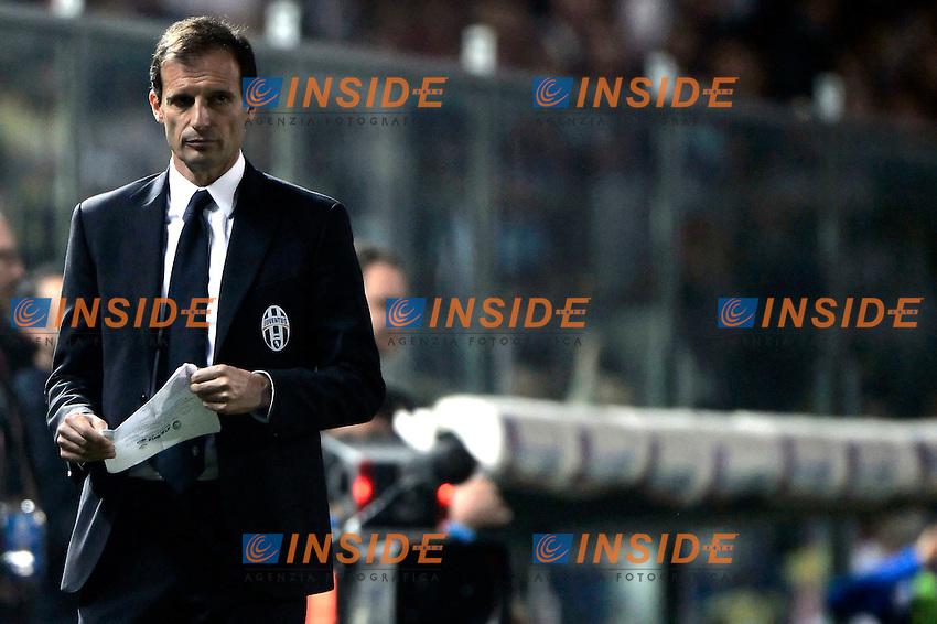 Massimiliano Allegri Juventus<br /> Bergamo 27-09-2014 Stadio Atleti Azzurri d'Italia - Football Calcio Serie A Atalanta - Juventus. Foto Giuseppe Celeste / Insidefoto