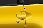 Closeup deatil of the door handle on a 2009 Mitsubishi Eclipse GT Coupe