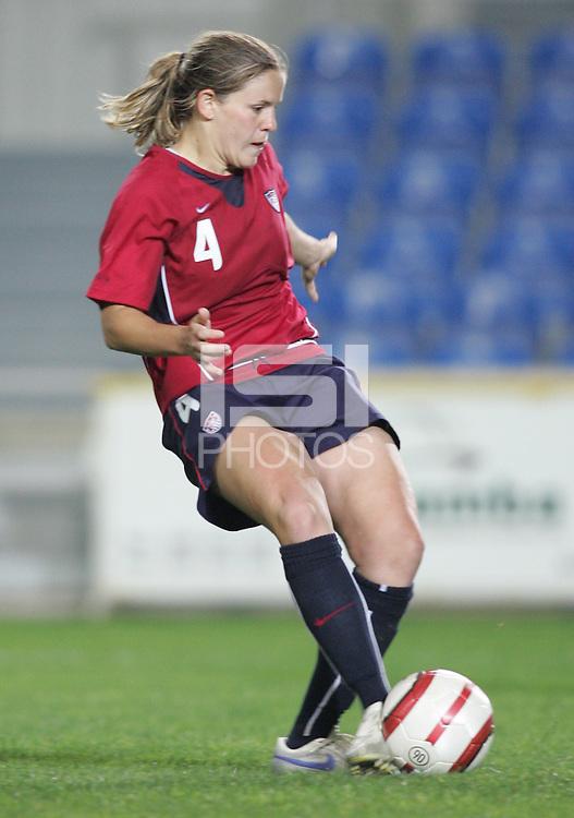 MAR 15, 2006: Faro, Portugal:  Catherine Whitehill