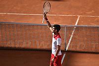 Roma 14-05-2018 Foro Italico, Tennis Internazionali di Tennis d'Italia <br /> Foto Andrea Staccioli / InsidefotoNovak Djokovic Serbia <br /> Roma 14-05-2018 Foro Italico, Tennis Internazionali di Tennis d'Italia <br /> Foto Andrea Staccioli / Insidefoto