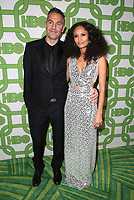 BEVERLY HILLS, CA - JANUARY 6: Ol Parker and Thandie Newton at the HBO Post 2019 Golden Globe Party at Circa 55 in Beverly Hills, California on January 6, 2019. <br /> CAP/MPIFS<br /> ©MPIFS/Capital Pictures
