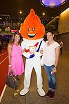 Nederland, Amsterdam, 4 juli 2012.Seizoen 2012/2013.NOC NSF het Olympic en Paralympic Team Netherlands.trampolinespingster Rea Lenders (r)