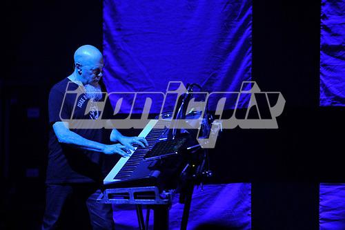 DREAM THEATER - Jordan Rudess - performing live at the Eventim Apollo in Hammersmith London UK - 23 Apr 2017.  Photo credit: Zaine Lewis/IconicPix