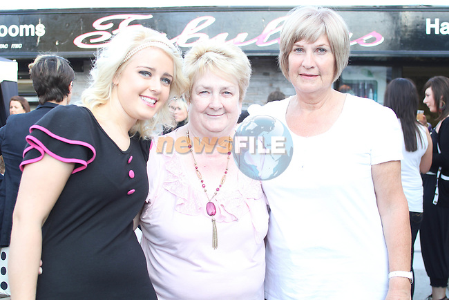 Danielle Smith, Olive Boylan and Carol Downes at the opening of Fabulous Salon...Photo NEWSFILE/Jenny Matthews.(Photo credit should read Jenny Matthews/NEWSFILE)....This Picture has been sent you under the condtions enclosed by:.Newsfile Ltd..The Studio,.Millmount Abbey,.Drogheda,.Co Meath..Ireland..Tel: +353(0)41-9871240.Fax: +353(0)41-9871260.GSM: +353(0)86-2500958.email: pictures@newsfile.ie.www.newsfile.ie.FTP: 193.120.102.198.