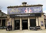 The Ambassador Theatre showing Real Bodies, city of Dublin, Ireland, Irish Republic, March 2017