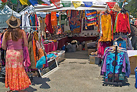 Topanga Canyon, CA, Tie Dyed, Clothes, Display, Booths,