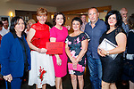 Regina O'Connor, Sarah Morressy, Marion Morressy, Ellen Barrett, Donal O'Connor and Ruth O'Connor at the Kerry Rose Selection at Ballyroe Heights Hotel on Friday Night.