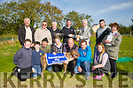 At All Times winner of the Stephen Fuller Memorial Cup  at Kilflynn Coursing Club on Monday. Pictured Front l-r Timmy Dillon, Gary Dillon, Tom O'Connor, Margaret O'Meara, Stephen O'Carroll, Patrick O'Connor and Josephine O'Connor. Back l-r DJ Histon, Vincent Purtill, Tim Holly, Paudie Fuller, Presenting to Dan Foley and Liam Purtill, , Christine O'Connor