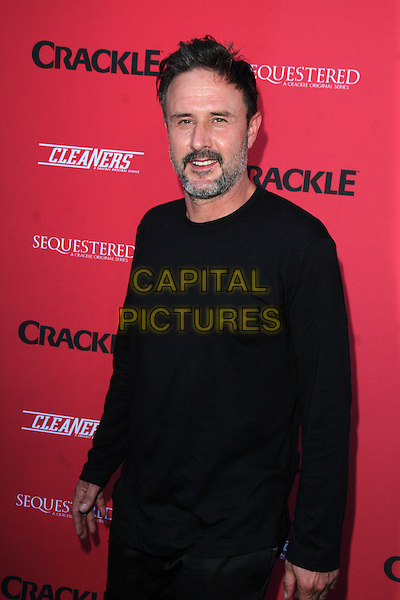 WEST HOLLYWOOD, CA - August 14: David Arquette at the Crackle Summer Premieres of 'Sequestered' and 'Cleaners' 1 OAK L.A, West Hollywood,  August 14, 2014. <br /> CAP/MPI/JO<br /> &copy;JO/MPI/Capital Pictures