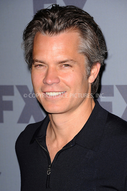 WWW.ACEPIXS.COM . . . . . .March 29, 2012...New York City....Timothy Olyphant attends the FX Ad Sales 2012 Upfront at Lucky Strike in Manhattan on March 29, 2012  in New York City ....Please byline: KRISTIN CALLAHAN - ACEPIXS.COM.. . . . . . ..Ace Pictures, Inc: ..tel: (212) 243 8787 or (646) 769 0430..e-mail: info@acepixs.com..web: http://www.acepixs.com .