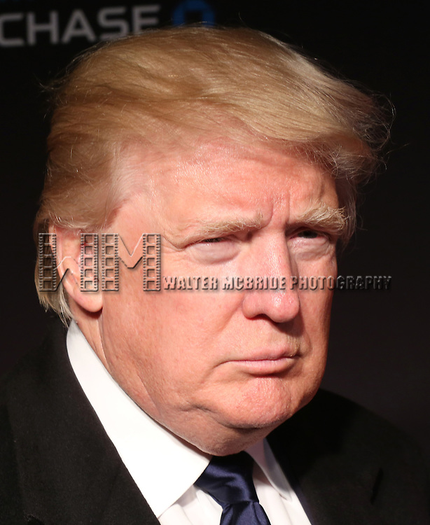 Donald Trump attends the Opening Night performance of 'New York Spring Spectacular' at Radio City Music Hall on March 26, 2015 in New York City.