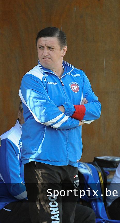 Hooglede   : <br /> Trainer Paul Vanfleteren<br />   Foto VDB / Bart Vandenbroucke