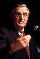 FILE PHOTO -  Walter Mondale<br /> circa 1987<br /> <br /> PHOTO :   Agence quebec Presse