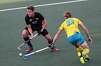 Harry Miskimmin. Pro League Hockey, Vantage Blacksticks Men v Australia, ANZAC test. North Harbour Hockey Stadium, Auckland, New Zealand. Thursday 25 April 2019. Photo: Simon Watts/Hockey NZ