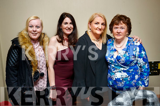 Siobhan Behan, Judie Dillane with Carmel and Anne Patton, pictured at the Irish Guide Dogs fundraiser dance at the Meadowlands Hotel, Tralee on Saturday night last.