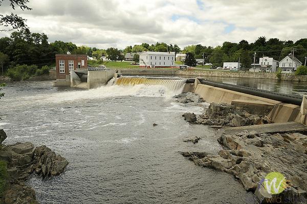 Rumford Falls. Hydro electric..