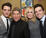 Casey Cott, Stephen Schwartz, Judith Light and Corey Cott attends the After Party for the Dramatists Guild Foundation toast to Stephen Schwartz with a 70th Birthday Celebration Concert at The Hudson Theatre on April 23, 2018 in New York City.