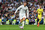 Real Madrid's Cristiano Ronaldo during the match of La Liga between Real Madrid  and Villarreal Club de Futbol at Santiago Bernabeu Estadium in Madrid. September 21, 2016. (ALTERPHOTOS/Rodrigo Jimenez)