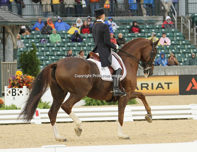 27 September 2010. #410 Anabel Balkenhol and Dablino from team Germany.