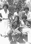 Jacksons 1977 at the family compound in Encino