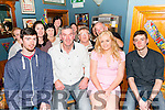 john O'Callaghan from Killarney celebrated his 50th birthday surrounded by friends and family in the Husseys Bar, Killarney last Sunday night.