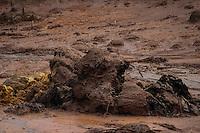 MARIANA,MG, 07.11.2015 – ROMPIMENTO-BARRAGEM – Vista dos estragos provocados  pelo rompimento da barragem da empresa Samarco em Bento Rodrigues, distrito de Mariana, na região Central de Minas Gerais, , neste sábado, 25. (Foto: Doug Patricio/Brazil Photo Press)