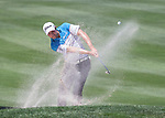 Peter Uihlein chips onto the 15th green during the Barracuda Championship PGA golf tournament at Montrêux Golf and Country Club in Reno, Nevada on Sunday, July 28, 2019.