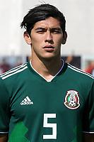 Gerardo Daniel Arteaga Zamora during Mexico Under-21 vs Turkey Under-21, Tournoi Maurice Revello Football at Stade de Lattre-de-Tassigny on 6th June 2018