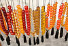 Worry beads, a common sight in the hands of Greek men, for sale in an Athens, Greece, shop. Photo by Kevin J. Miyazaki/Redux