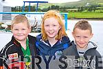 Neilie O'Sullivan, Amanda O'Sullivan, and Aoda?n Noonan Templenoe at the Caherciveen regatta on Sunday    Copyright Kerry's Eye 2008