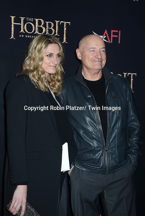 "Terry O'Quinn and guest attends the US Premiere of ""The Hobbit"" on December 6, 2012 at the Ziegfeld Theatre in New York City."