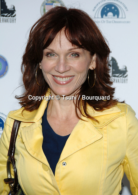 Marilu Henner arriving at GRIFFITH OBSERVATORY Re-Opening in Los Angeles.<br /> <br /> headshot<br /> smile<br /> eye contact