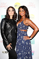 "LOS ANGELES - May 11: Veronica Mendoza, Courtney Wright at ""The Pussy Grabbers Play LA"" presented by the Cote d'Azur Web Fest at the Thymele Arts Center on May 11, 2019 in Los Angeles, CA"