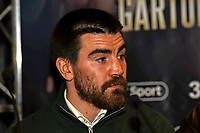 Johnny Garton during a Press Conference at The Gore Hotel on 6th March 2019