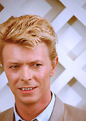 Mar 17, 1983: DAVID BOWIE - Press Conference in London
