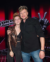 www.acepixs.com<br /> <br /> December 13 2017, Berlin<br /> <br /> Winner Natia Todua (L) poses with her coach Samu Haber after winning the finals of 'The Voice of Germany' at Studio Berlin Adlershof on December 17, 2017 in Berlin, Germany. <br /> <br /> By Line: Famous/ACE Pictures<br /> <br /> <br /> ACE Pictures Inc<br /> Tel: 6467670430<br /> Email: info@acepixs.com<br /> www.acepixs.com