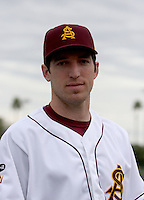Ike Davis / Arizona State Sun Devils..Photo by:  Bill Mitchell/Four Seam Images