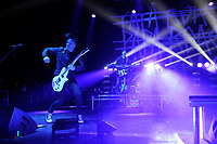 LONDON, ENGLAND - OCTOBER 10: Jerry Horton and Anthony Esperance of 'Papa Roach' performing at Brixton Academy on October 10, 2017 in London, England.<br /> CAP/MAR<br /> &copy;MAR/Capital Pictures