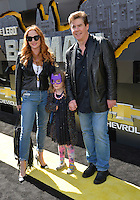 Ralph Garman &amp; Kerry Garman &amp; Olivia Garman at the world premiere of &quot;The Lego Batman Movie&quot; at the Regency Village Theatre, Westwood, Los Angeles, USA 4th February  2017<br /> Picture: Paul Smith/Featureflash/SilverHub 0208 004 5359 sales@silverhubmedia.com