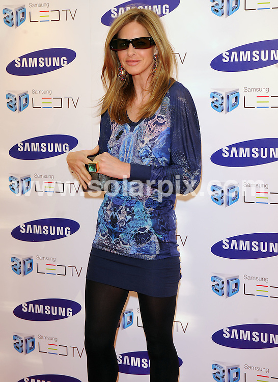 **ALL ROUND PICTURES FROM SOLARPIX.COM**.**WORLDWIDE SYNDICATION RIGHTS**.Celebrities arrive at the Samsung 3D Television party at the Saatchi Gallery, Duke of York's HQ, London UK. 27 April 2010..This pic: Trinny Woodhall..JOB REF: 11166 SSD     DATE: 27_04_2010.**MUST CREDIT SOLARPIX.COM OR DOUBLE FEE WILL BE CHARGED**.**MUST NOTIFY SOLARPIX OF ONLINE USAGE**.**CALL US ON: +34 952 811 768 or LOW RATE FROM UK 0844 617 7637**