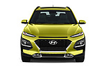 Car photography straight front view of a 2018 Hyundai Kona Limited DCT 5 Door SUV