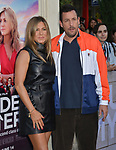 "Jennifer Aniston, Adam Sandler 042 arrives at the LA Premiere Of Netflix's ""Murder Mystery"" at Regency Village Theatre on June 10, 2019 in Westwood, California"